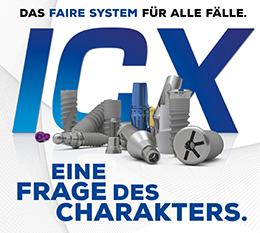 Faire ICX-Premium-Implantate für Patienten und Anwender